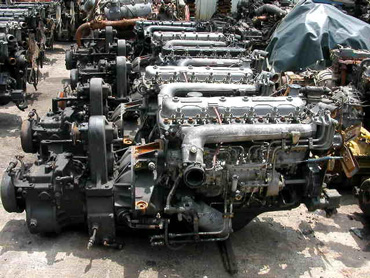 Used parts for Reconditioned motors for sale